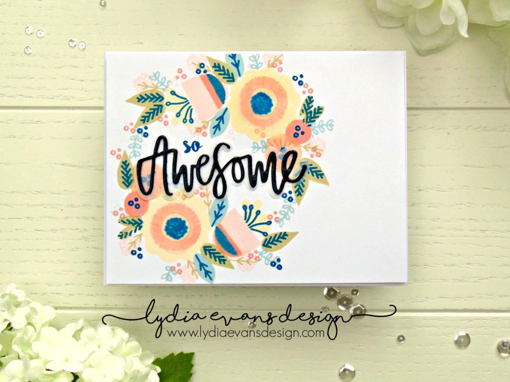 Neat & Tangled Scandinavian Prints Floral Awesome Die_1